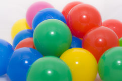 Palle di colore Fotografie Stock