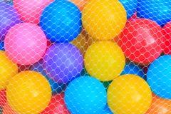 Palle di colore per divertimento del gioco Fotografia Stock