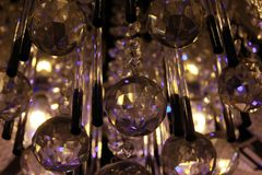 Palle di Crystal Christmas fotografie stock