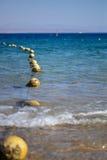 Palle di galleggiamento fotografia stock