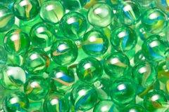 Palle di marmo di vetro Immagini Stock Libere da Diritti