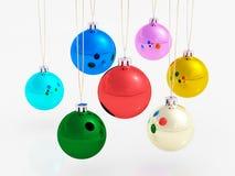 Palle di Natale Fotografie Stock Libere da Diritti