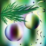 Palle di Natale di immagine di vettore royalty illustrazione gratis