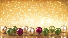 Palle di natale di Natale Fotografia Stock Libera da Diritti