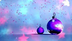 Palle di Natale, Natale fondo, Buon Natale stock footage