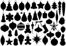Palle di Natale impostate royalty illustrazione gratis