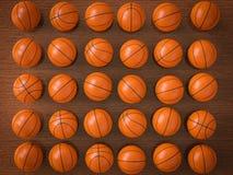 Palle di pallacanestro royalty illustrazione gratis