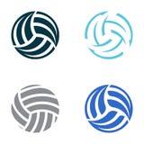 Palle di pallavolo Immagine Stock