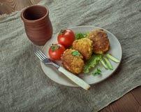 Palle di pesce danesi Fotografie Stock