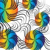 Palle di Swirly Immagini Stock Libere da Diritti