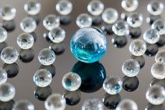 Palle di vetro Fotografia Stock