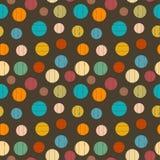 Palle nei colori d'annata Immagine Stock