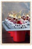 Palle Toy Baking Sheet Preparation di Natale Immagini Stock Libere da Diritti