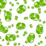 Palle verdi di cristallo Immagine Stock Libera da Diritti