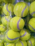 Palle verdi per tennis Immagine Stock Libera da Diritti
