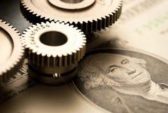 Pallen en dollar Royalty-vrije Stock Foto