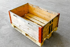 Pallet box Royalty Free Stock Photography
