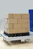 Pallet box Stock Image