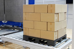 Pallet box Royalty Free Stock Image