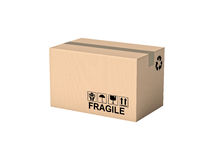 Pallet and boxes Royalty Free Stock Image