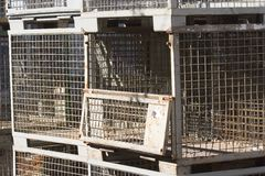 Pallet cage Stock Images