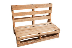 Pallet Chair Royalty Free Stock Images