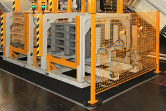 Pallet changer Stock Image