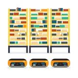 Pallet delle merci del magazzino illustrazione vettoriale