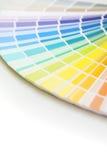 Pallet di colore con lo spazio della copia Immagini Stock