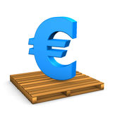 Pallet Euro Stock Photography