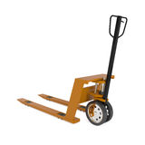 Pallet Hand Truck isolated on white Royalty Free Stock Images