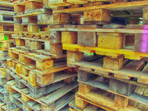 Pallet HDR Royalty Free Stock Photo