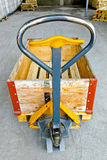 Pallet jack control Stock Images