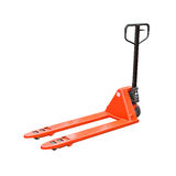 Pallet jack isolated Royalty Free Stock Image