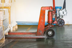 Pallet-Jack Royalty Free Stock Photography