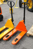 Pallet jack Royalty Free Stock Photo