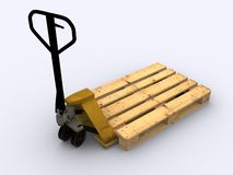 Pallet jack Royalty Free Stock Image