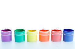 Free Pallet Of Paint Royalty Free Stock Photo - 3757775