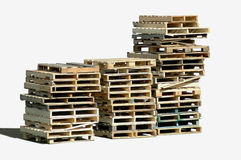 Free Pallet Piles Royalty Free Stock Photo - 1462035