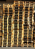 Pallet Piles Stock Image