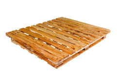 Pallet of pine Royalty Free Stock Images