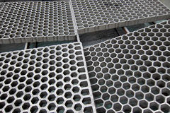 Pallet plate. Empty pallet plate for put the workpiece in manufacturing Royalty Free Stock Photography