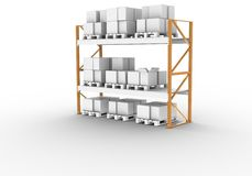 Pallet Rack Stock Photography