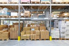 Pallet Rack Stock Photo