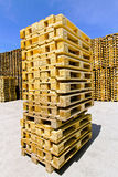 Pallet stack Stock Images