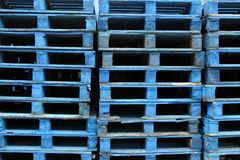 Pallet Stack Royalty Free Stock Images