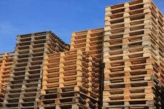 Pallet storage Royalty Free Stock Photography