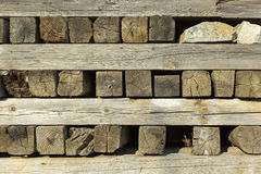Pallet timber Royalty Free Stock Images
