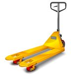 Pallet truck stock illustration