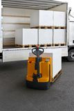 Pallet truck Stock Images